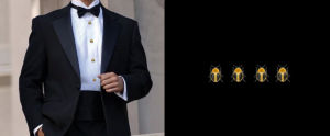 Cufflinks & Black Tie 1